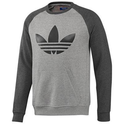 best website a052e b9d11 adidas Trefoil Raglan Sweatshirt