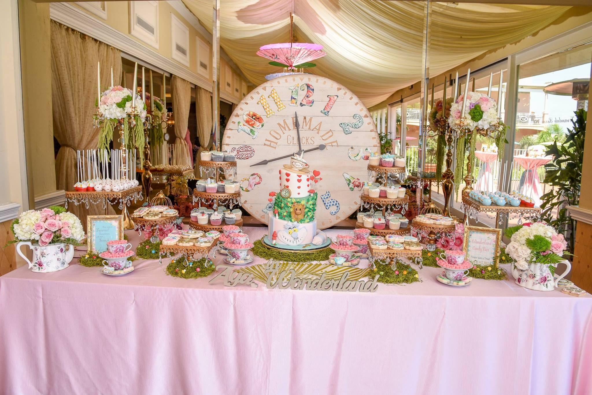 Alice In Wonderland Baby Shower Ideas Alice In Wonderland Birthday Party I Alice In Wonderland Birthday Wonderland Party Invitations Onederland Birthday Party