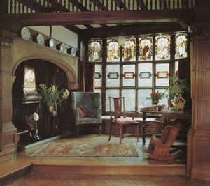 The Entrance Hall At Wightwick Manor Incorporates Many