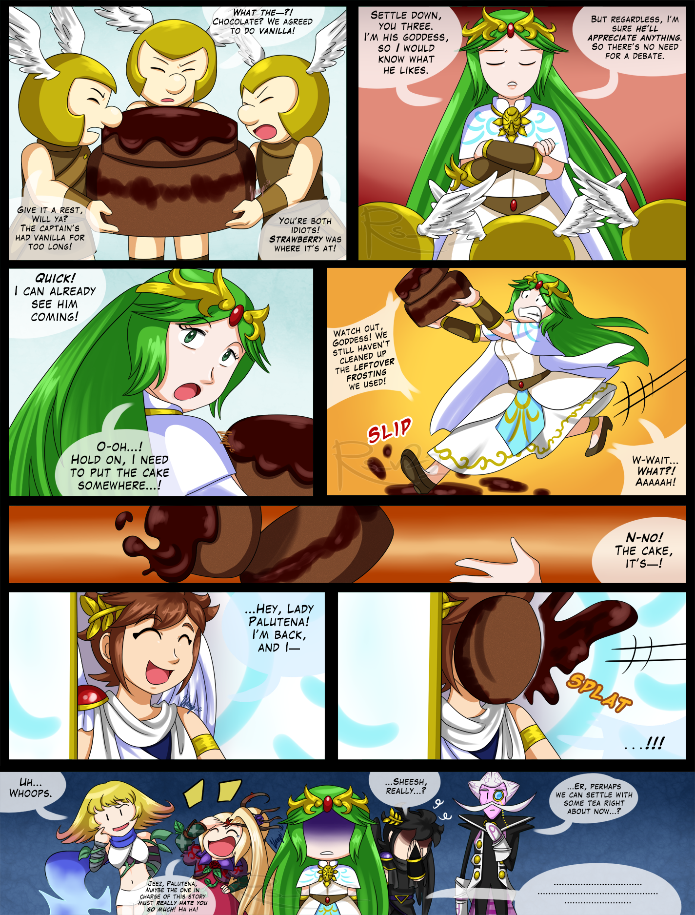 angelic anniversary page 5 by rs v22 kid icarus pinterest kid
