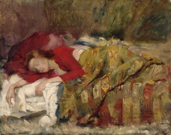jeune femme endormie by lovis corinth german 1858 1925 peindre pinterest allemand. Black Bedroom Furniture Sets. Home Design Ideas