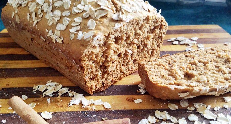 Oatmeal Honey Cinnamon Quick Bread   CleanFreshCuisine