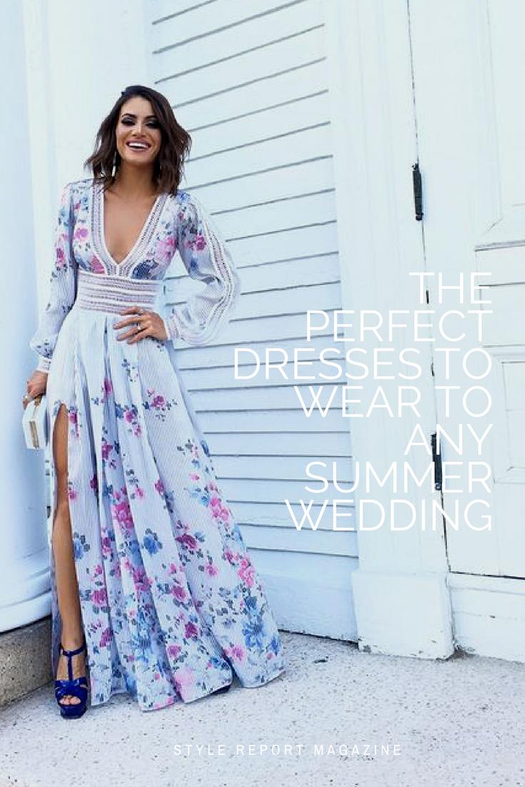 Best Dressed Guest Wedding Attire Style Report Magazine Wedding Attire Guest Maxi Dress Wedding Guest Wedding Guest Dress Summer [ 1102 x 735 Pixel ]