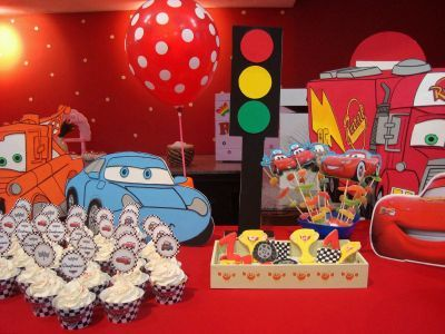 Muy ameno fiestas infantiles decoraci n cars ideas for Decoracion de frutas para fiestas infantiles