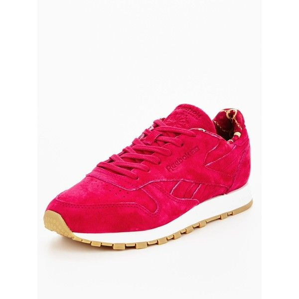122b4b45bb2 Reebok Cl Leather Tdc (Bandana) (€76) ❤ liked on Polyvore featuring ...