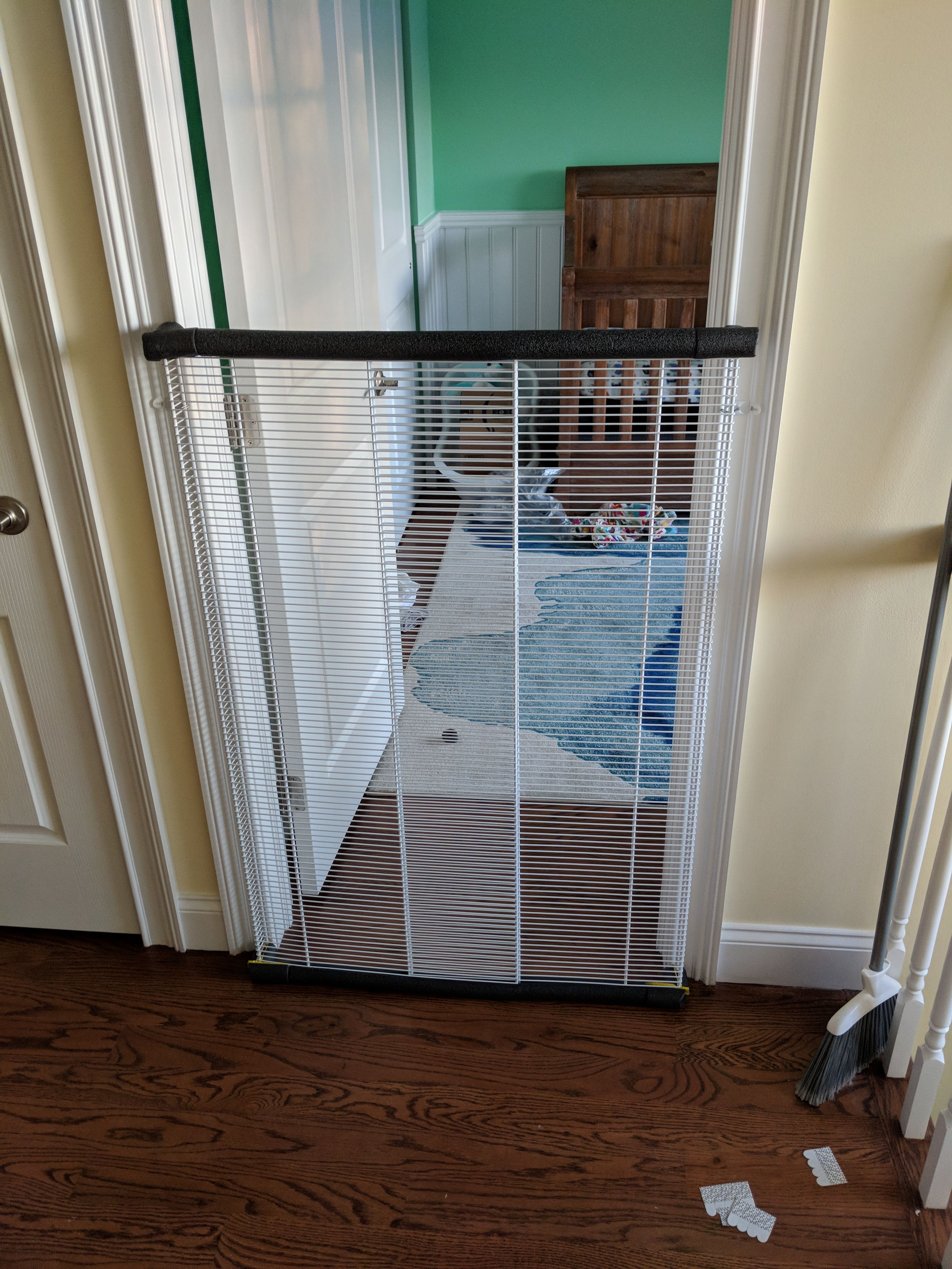 Custom Baby/Pet/Cat Gate Cat gate, Diy dog gate, Dog gate
