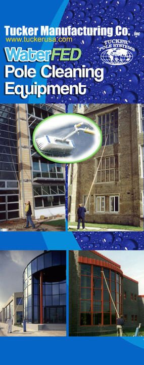 The Tuker Pole For Washing Multiple Stories From The Ground Washing Windows Commercial Window Cleaning Window Cleaner
