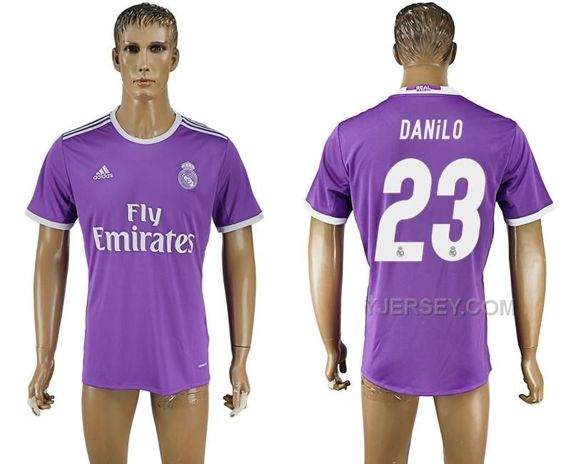 a241a77fee54 ... CF Soccer Jersey White Home Authentic 17 httpwww.yjersey.com201617-real- madrid-23-danilo-away- ...