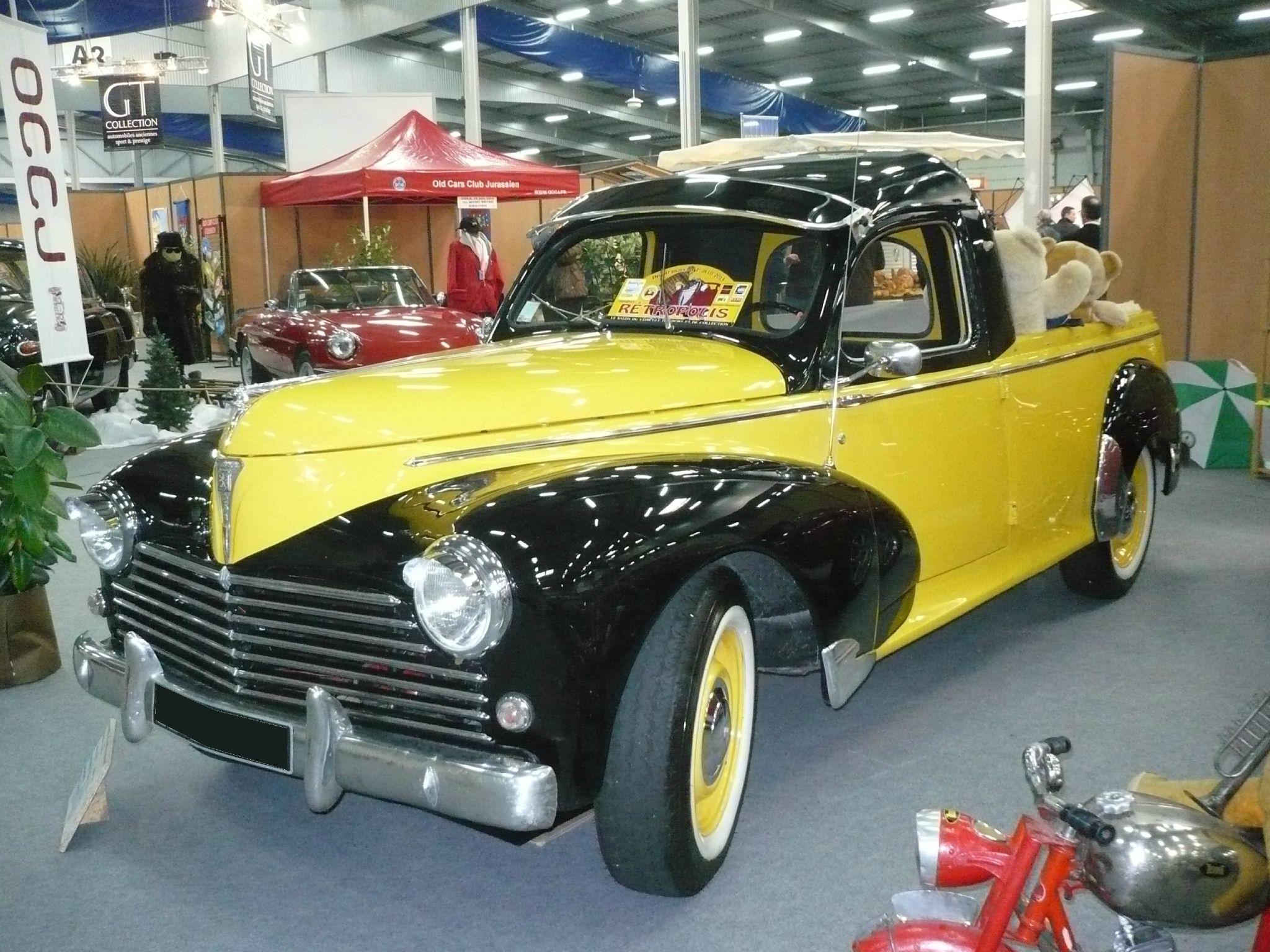 peugeot 203 pick up australien 1955 vroom vroom peugeot 203 et 403 voiture peugeot. Black Bedroom Furniture Sets. Home Design Ideas