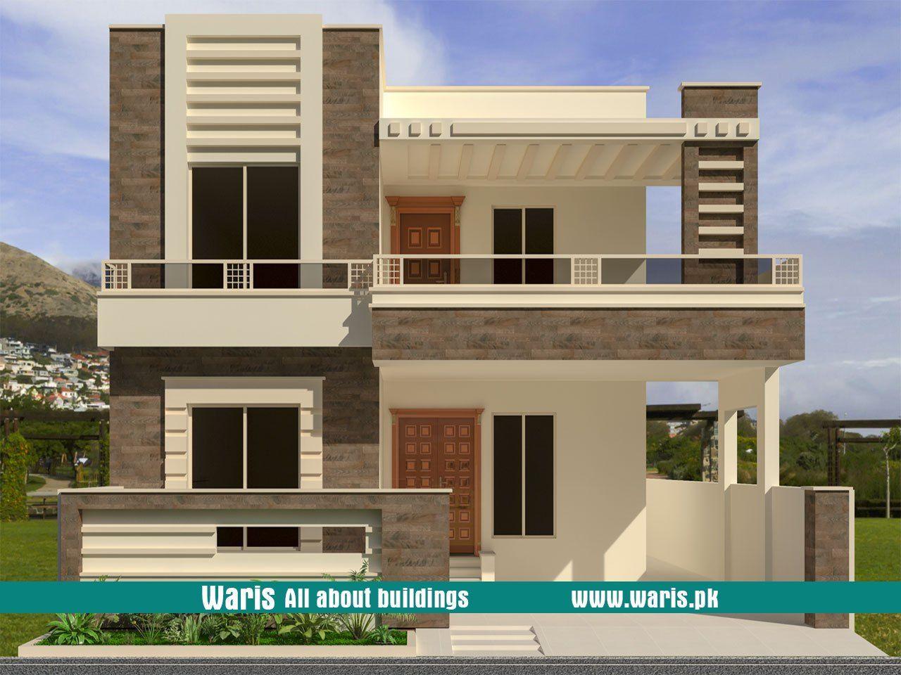 10 Marla 35x65 House Design In Gujranwala Pakistan Duplex House Design House Front Design Architectural House Plans
