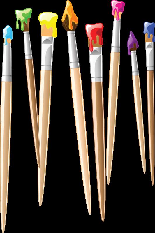 Installer un pinceau pinceaux dessin et crayon for Manche d un pinceau