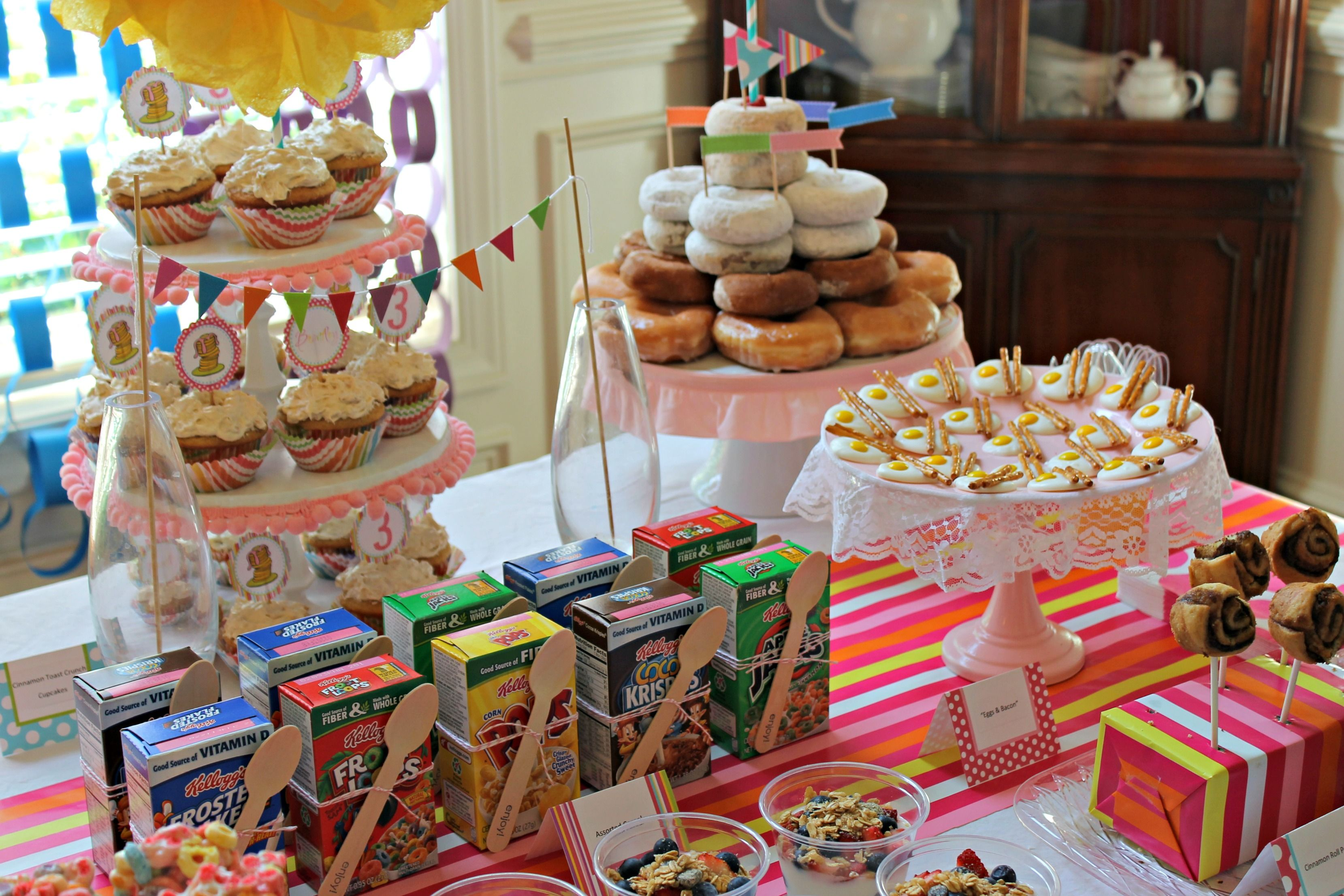 Morning Birthday Party Food Some Great Ideas
