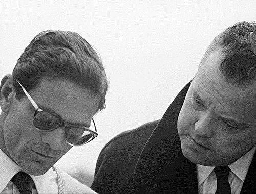 Pier Paolo Pasolini Orson Welles