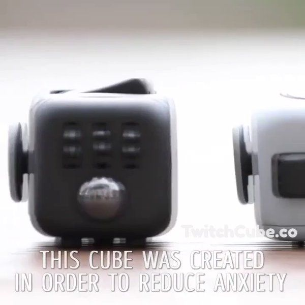 """Twitch Cube on Twitter: """"Do you experience anxiety+stress+fidgeting? Twitch Cube is designed to help you overcome these obstacles!  Only at https://t.co/bPoV1tlrkF 🙂 https://t.co/mteh7ZRu9B"""""""