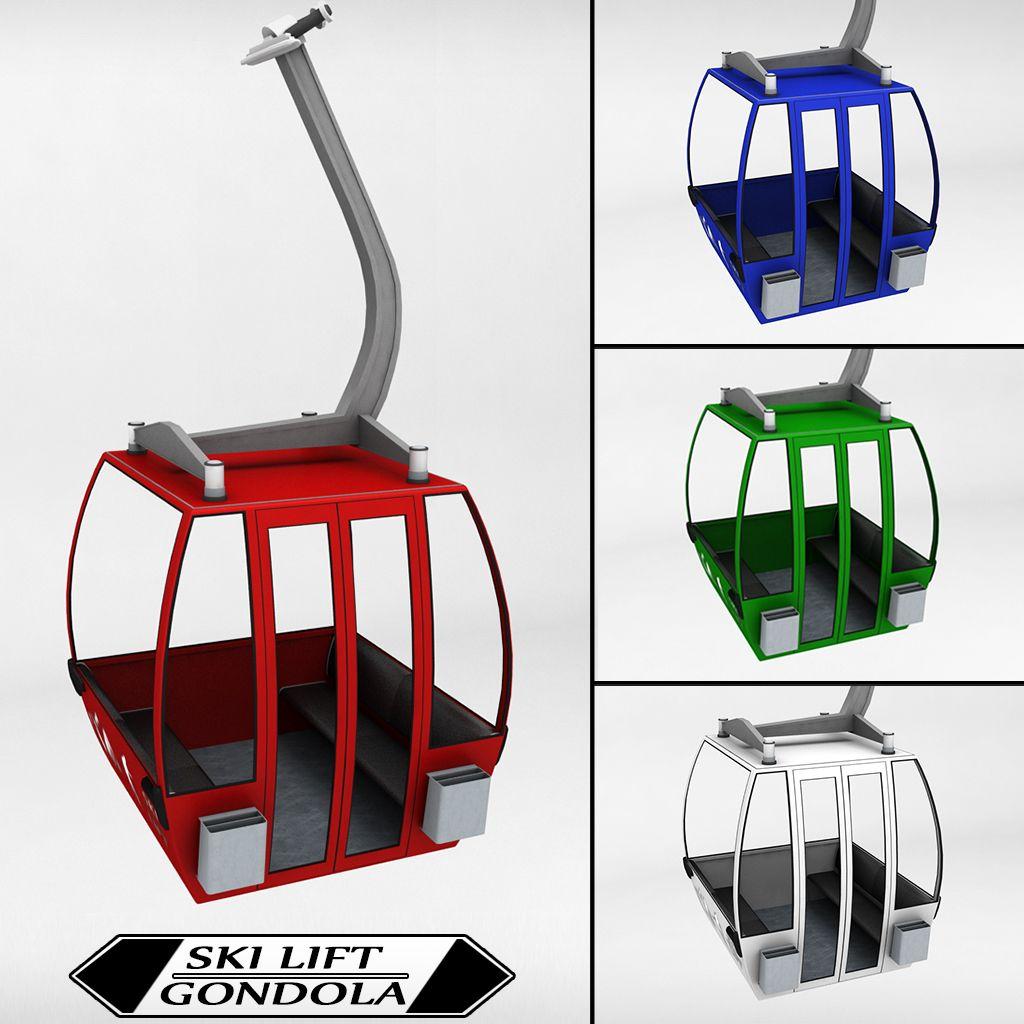 Ski Lift Gondola Cable Car Small Ski Lift Cable Cars Skiing