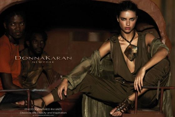 Donna Karan s spring 2012 ads were inspired by the designer s extensive  charity work in Haiti 8ad67c941