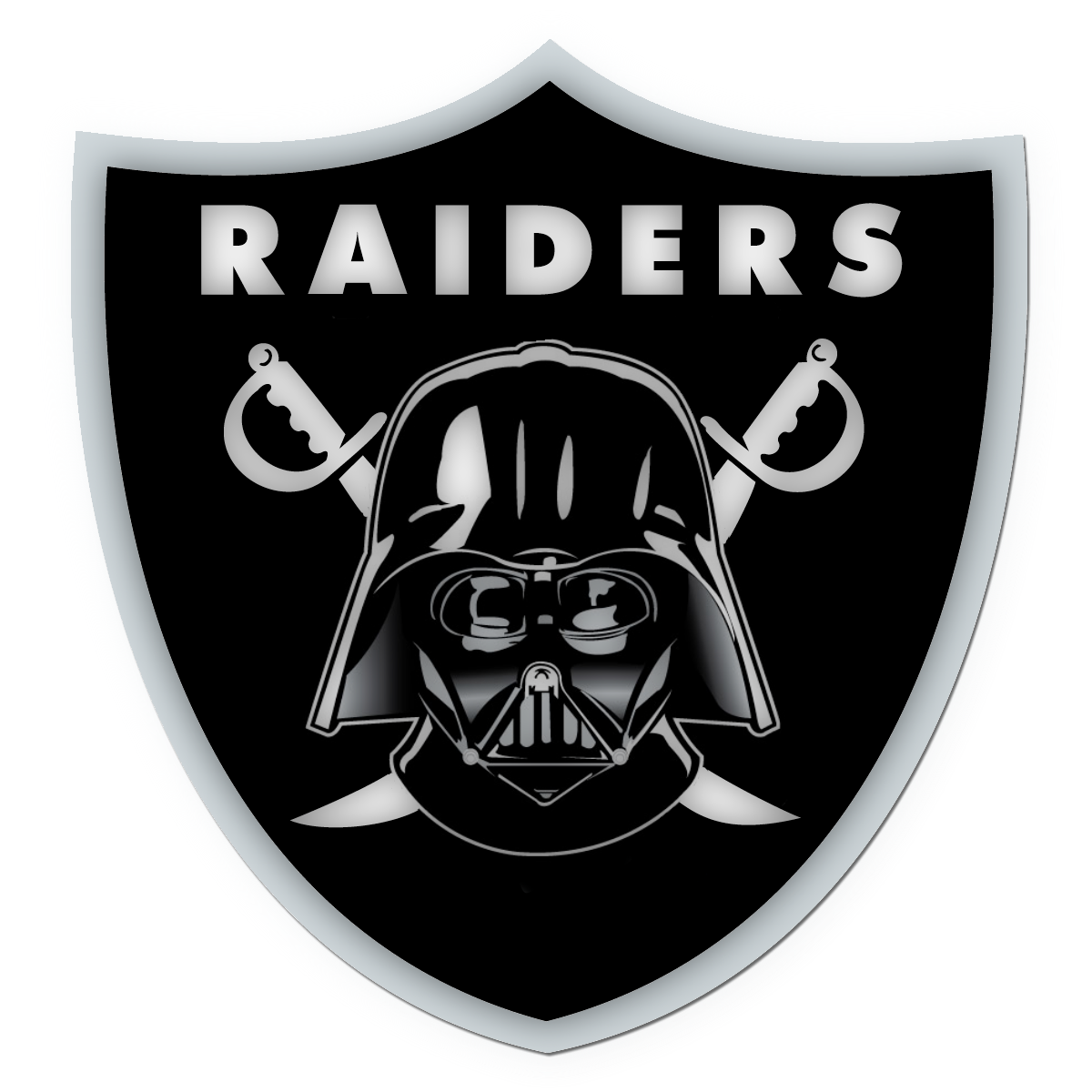 Oakland Raiders Logo (With images) Oakland raiders logo