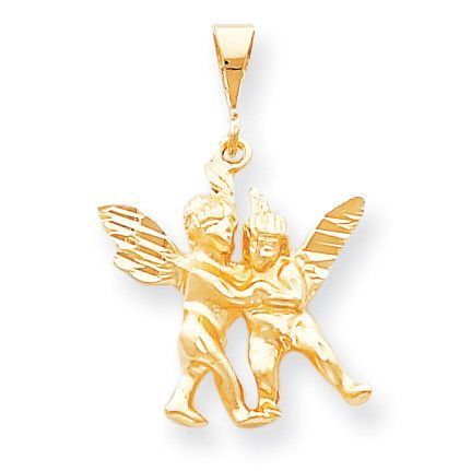 Now available on our store: 10k Angel Charm 1... Check it out here! http://shirindiamond.net/products/10k-angel-charm-10c50?utm_campaign=social_autopilot&utm_source=pin&utm_medium=pin