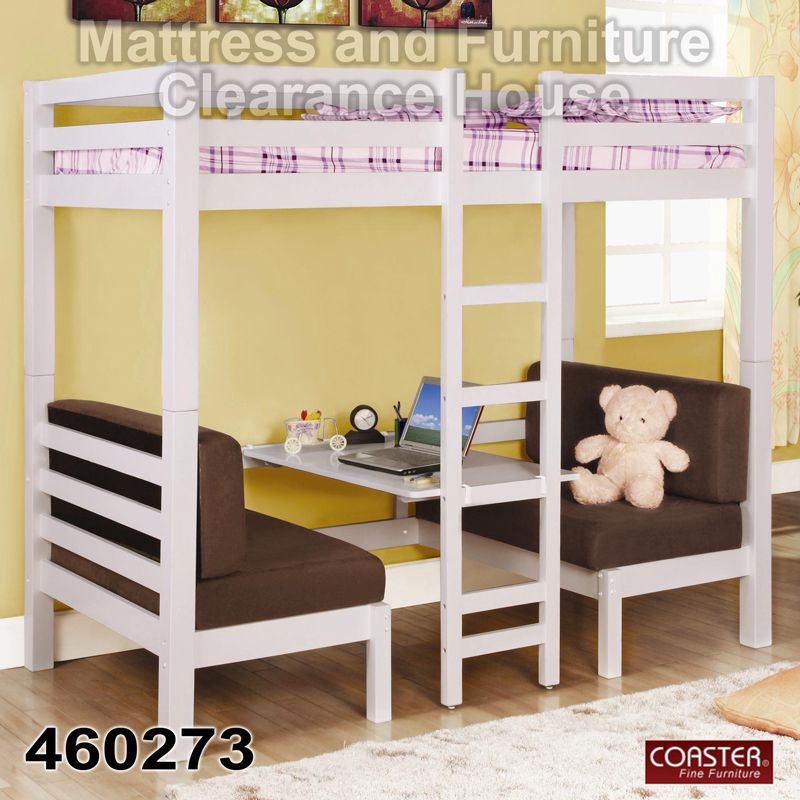 $699.99 Coaster Twin Over Twin Convertible Loft Bunk Bed 460273. Create A  Fun And Usable