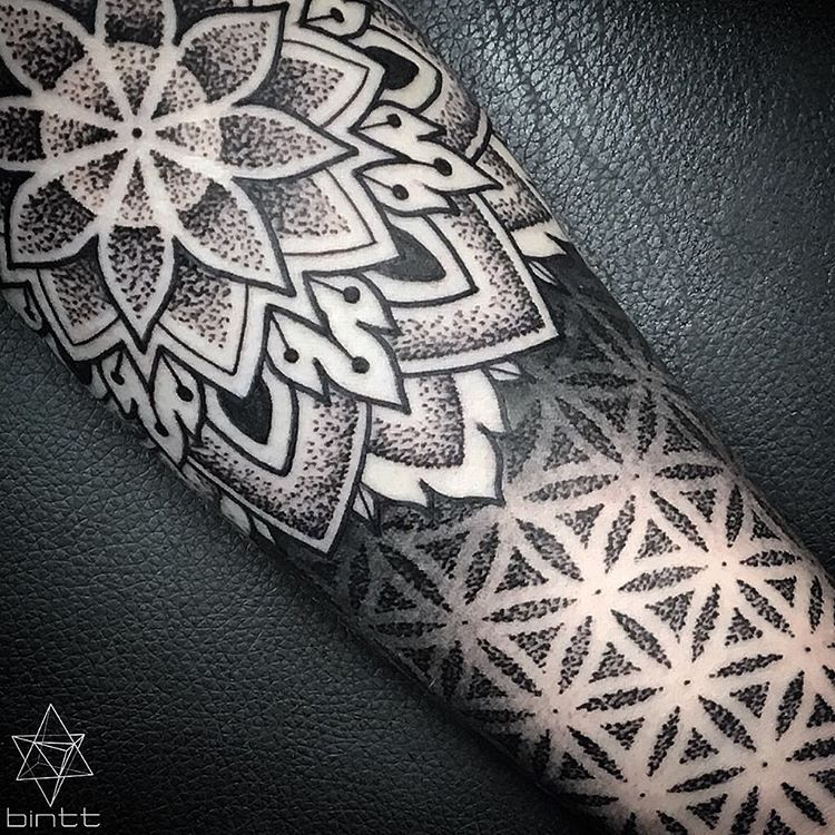 Socallmebinty Geometric Tattoo Tattoos For Guys Sleeve Tattoos