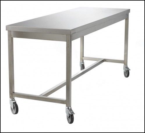 Attractive Stainless Steel Tables With Wheels