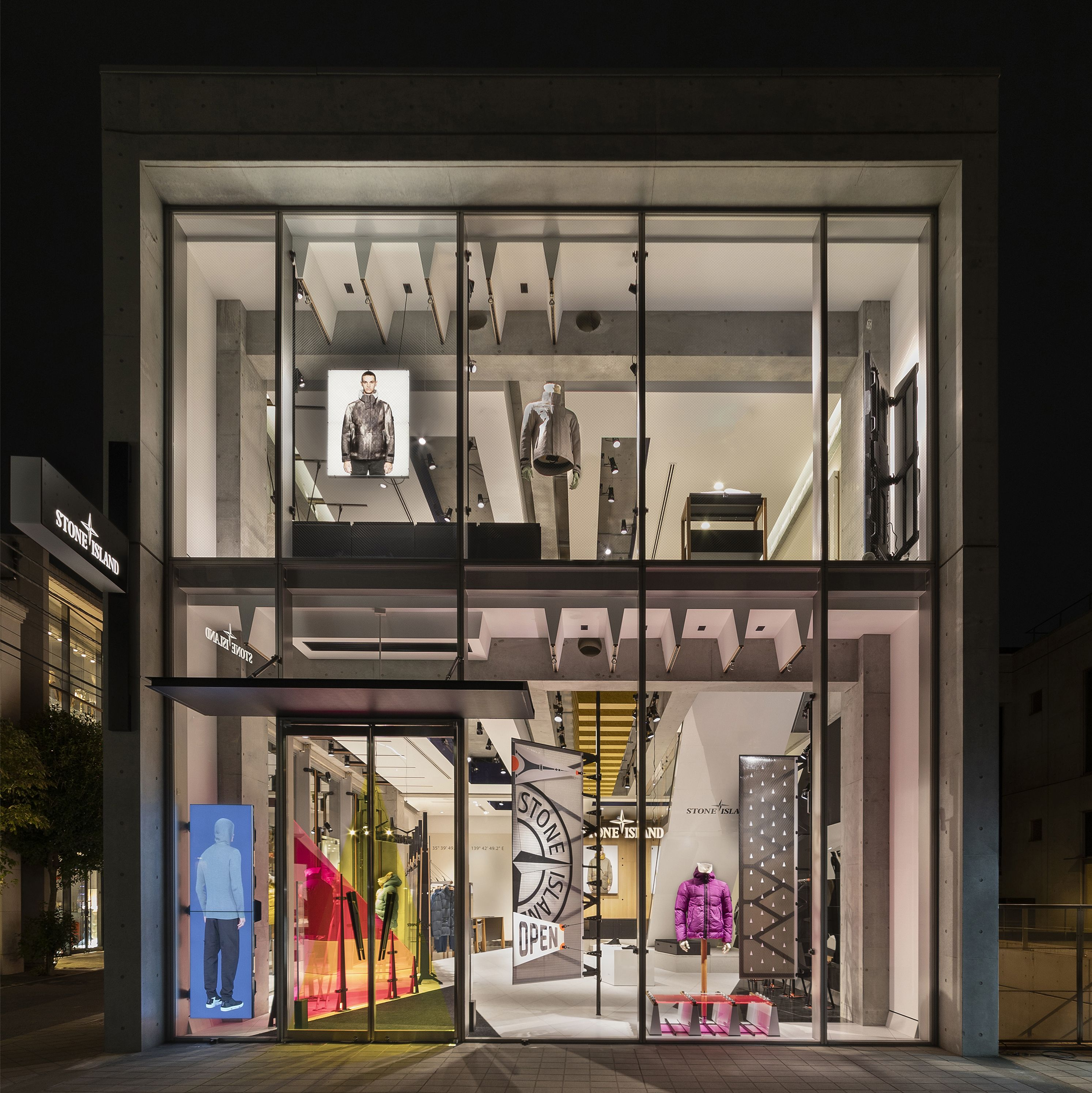 check out 112f2 b77c4 The Stone Island Store in Tokyo_Japan at Minami Aoyama 5-5-4 ...
