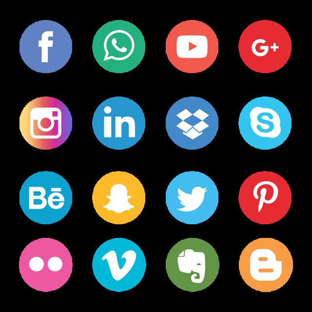 تعليق مثل ناقلات حر Png و سهم التوجيه Icones Sociais Icones Redes Sociais Conjunto De Icones