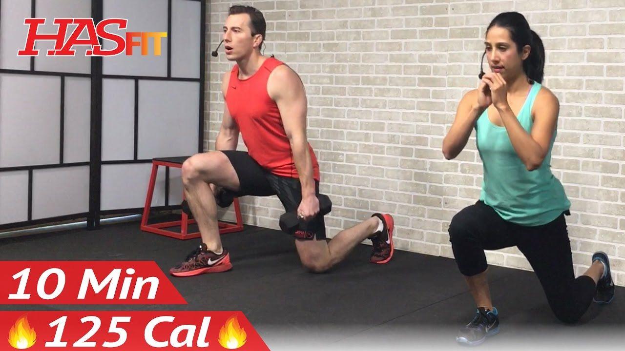 10 Min Home Leg Workout Routine