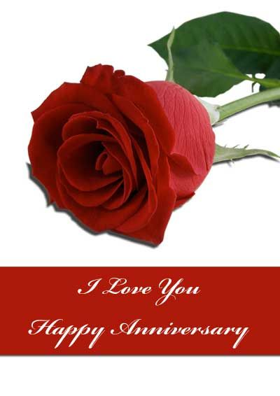 Red Rose Anniversary Cards - my-free-printable-cards Printable
