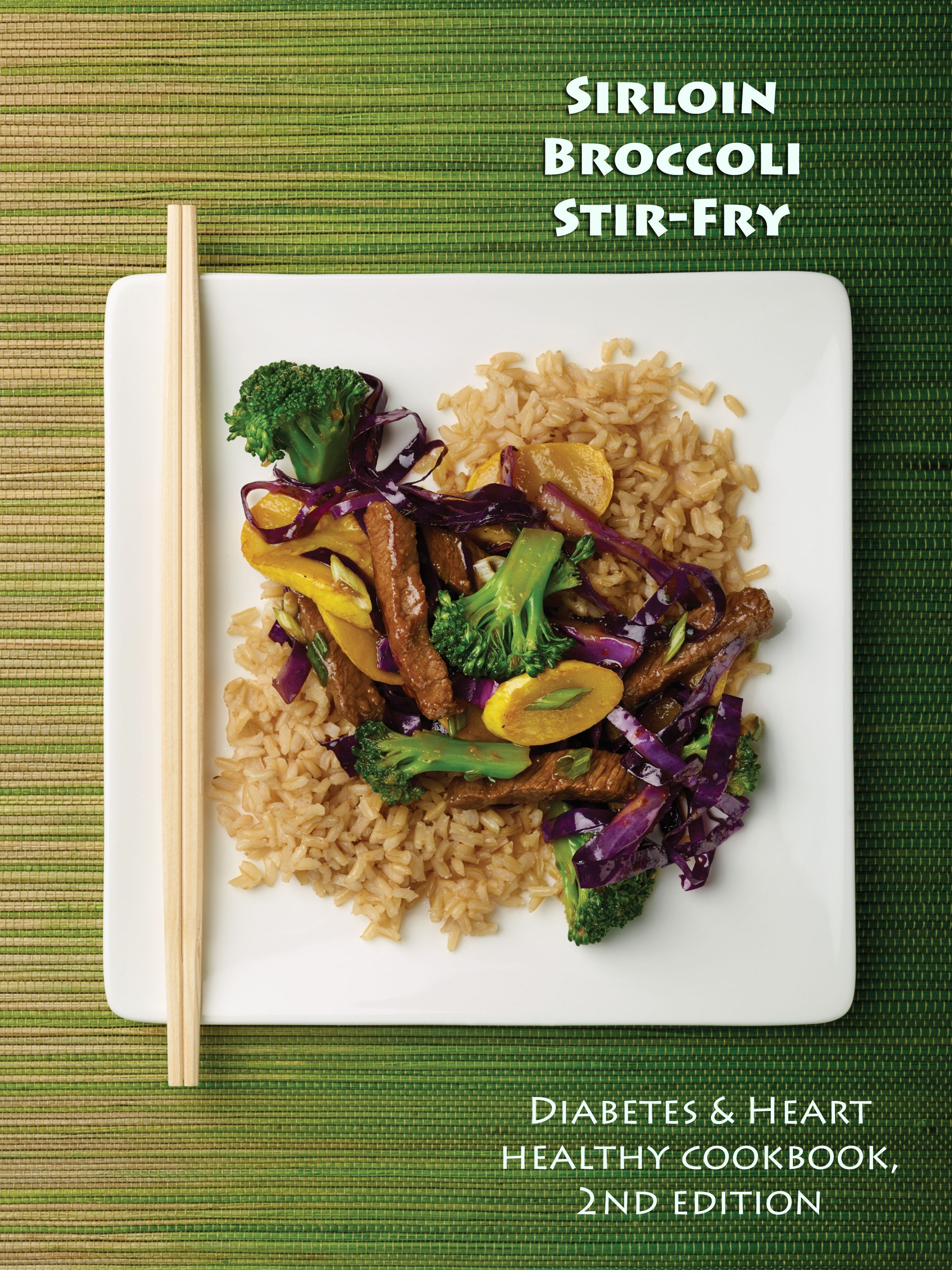 Sirloin broccoli stir fry from the diabetes heart healthy sirloin broccoli stir fry from the diabetes heart healthy cookbook 2nd edition forumfinder Images
