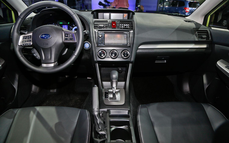 2014 subaru xv crosstrek hybrid cabin interior | cars likes