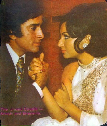 Bollymusings | Shashi kapoor, Sharmila tagore, Vintage bollywood