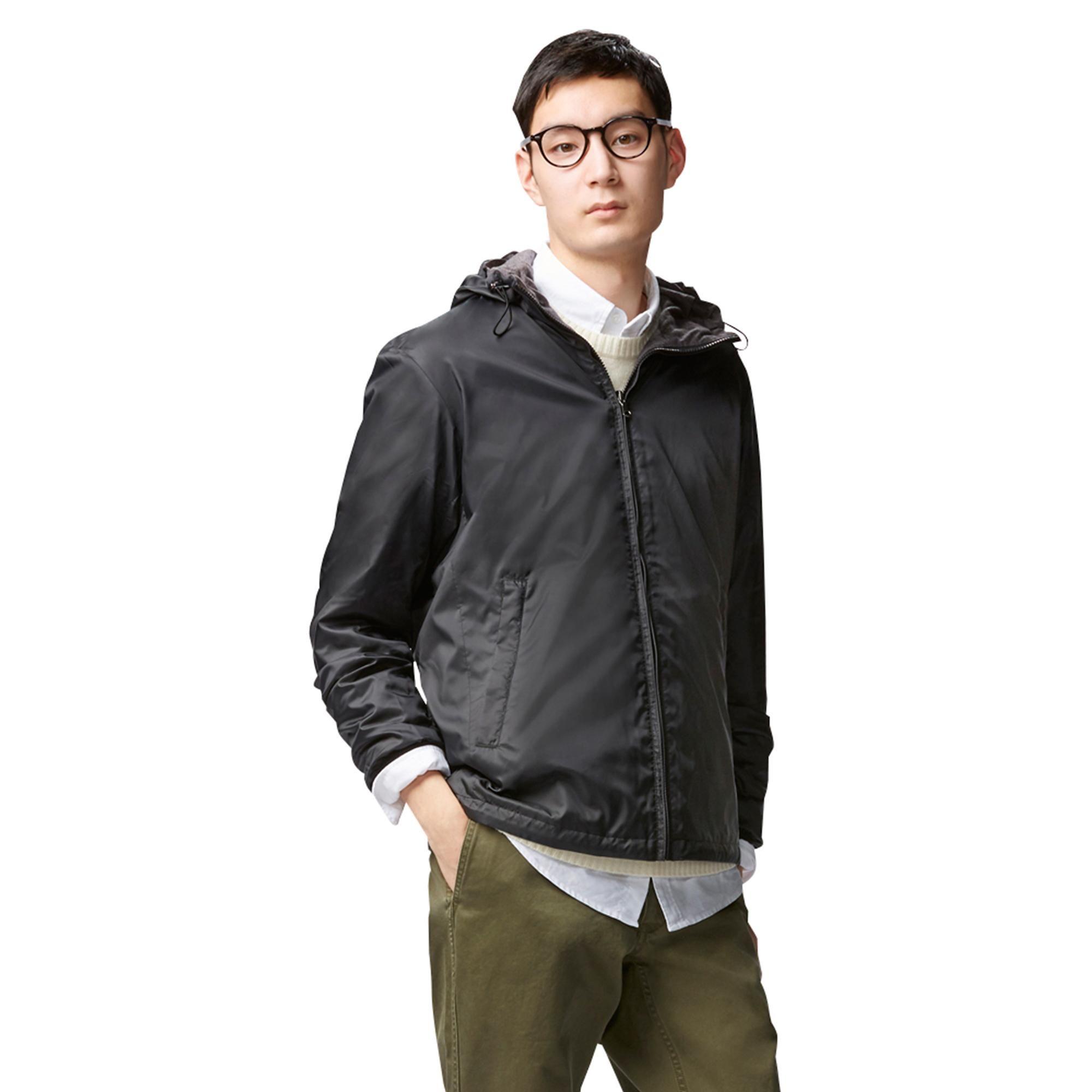 Men Reversible Hooded Jacket Uniqlo Jackets Hooded Jacket Uniqlo [ 2000 x 2000 Pixel ]