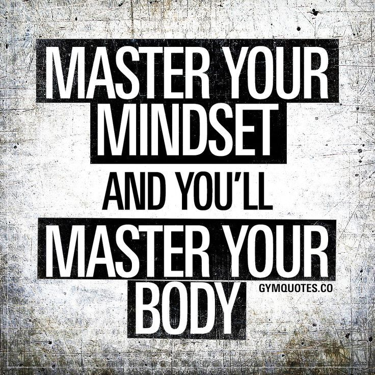 Gym motivation quotes: Master your mindset and you'll master your body. -  - #Body #GYM #Master #Min...