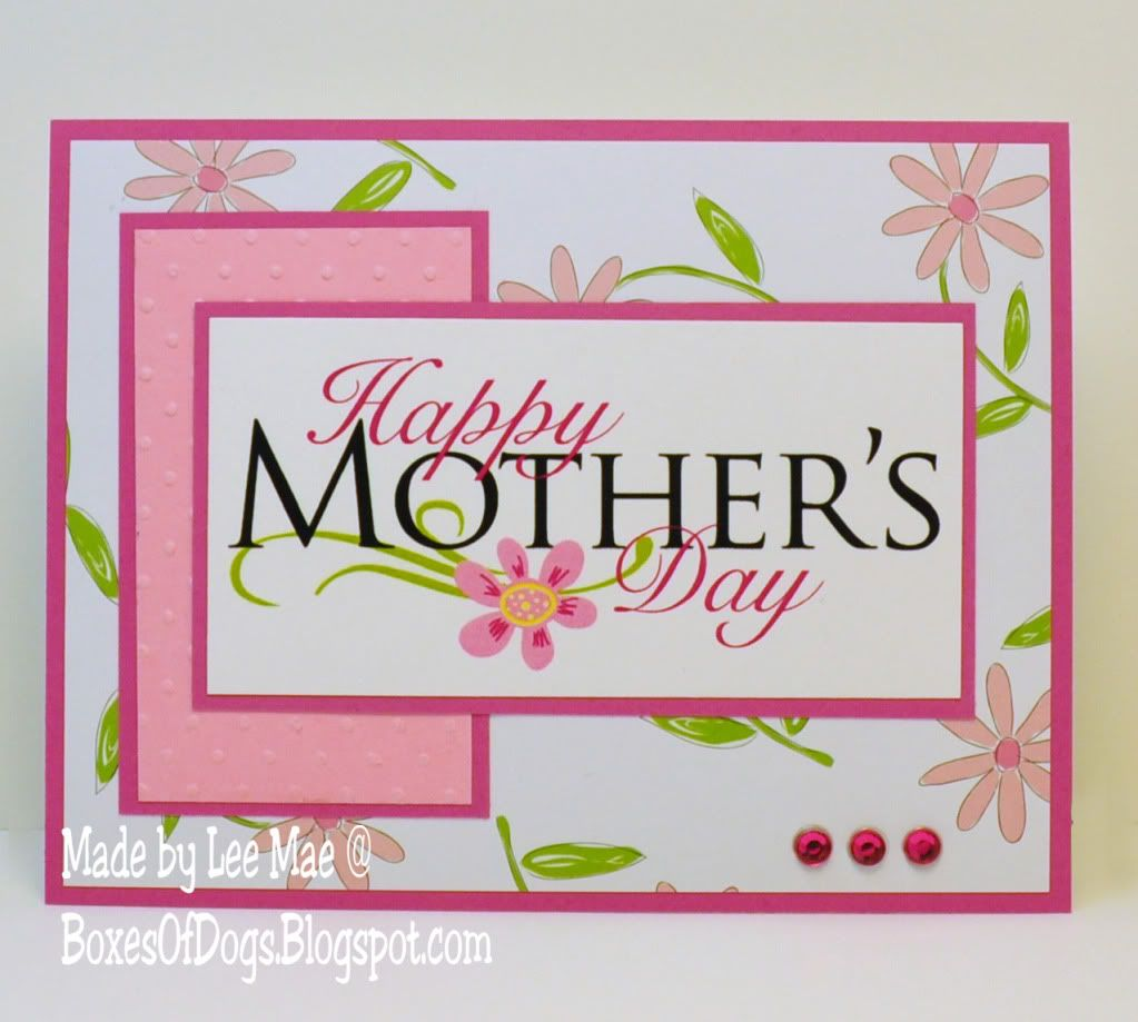 Mothers Day Card Operation Write Home Mothers Day Card Using