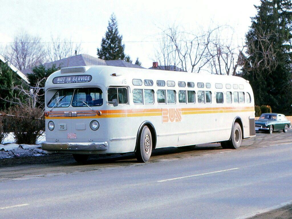 Kamloops Gmc Old Look Vintage Train Bus Bus Terminal