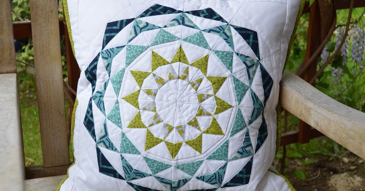 Hohenbrunner Quilterin: Pillow Swap Four Seasons - Summer ...