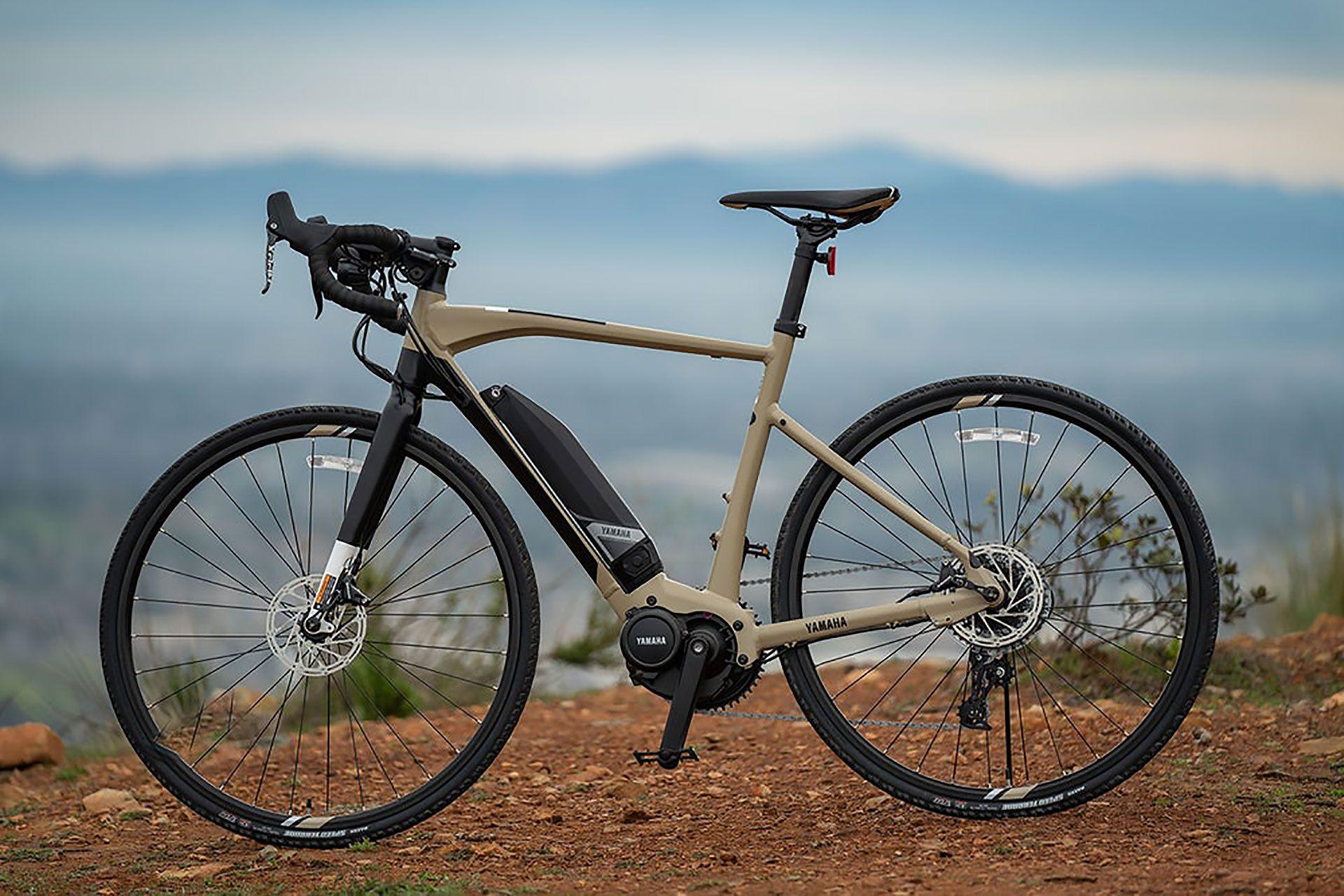 Yamaha Wabash Adventure Gravel E Bike Bisiklet Araba Seyahat
