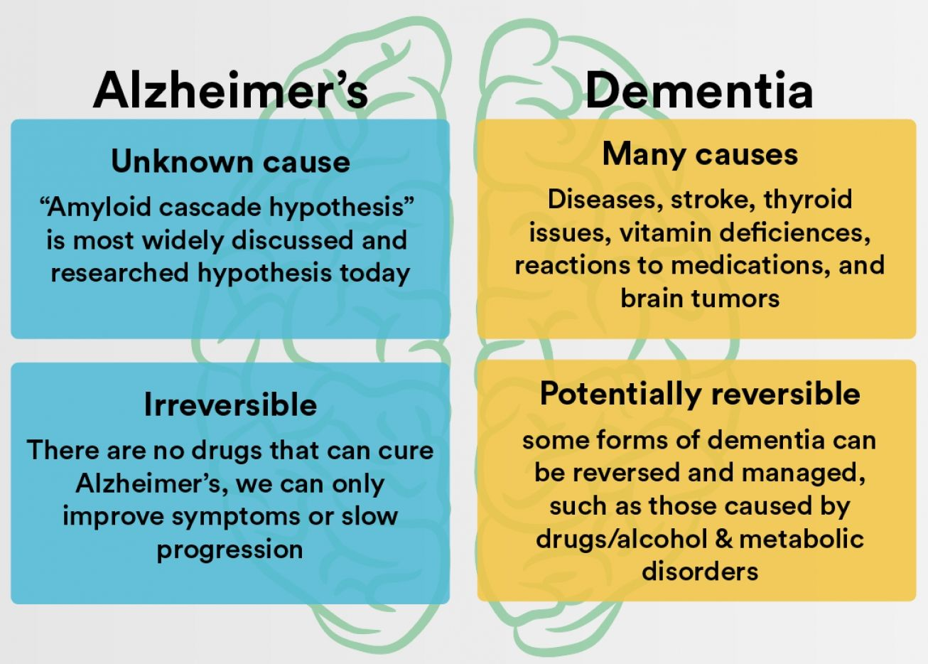 Which Type Of Dementia Is Potentially Reversible