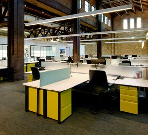 new office design trends. St. Louis Power House Office By OWPP/Cannon Design (http:// New Trends