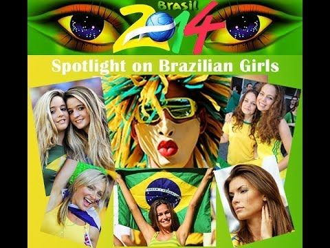 The Soccer Girls from Brazil 2014 Photo Collection