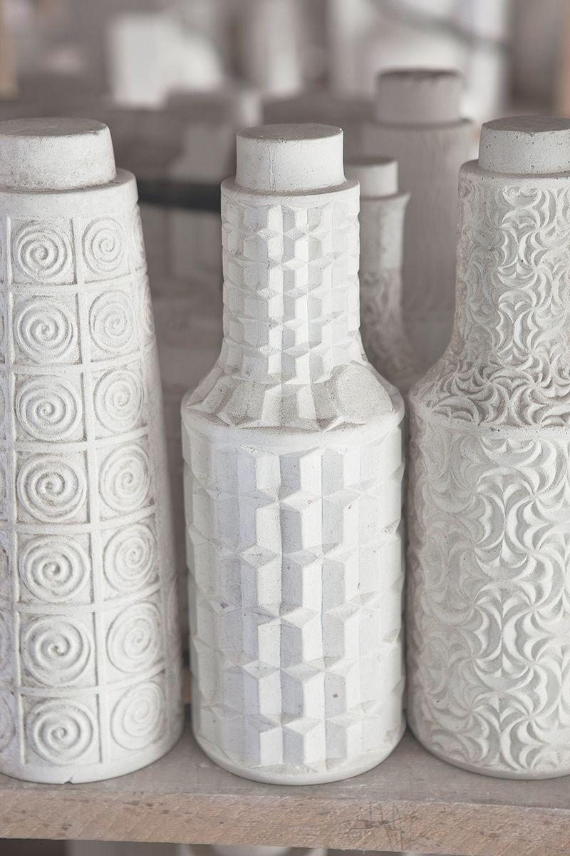 Gallego 100 los moldes de varios jarrones de cer mica en - Jarrones de ceramica ...