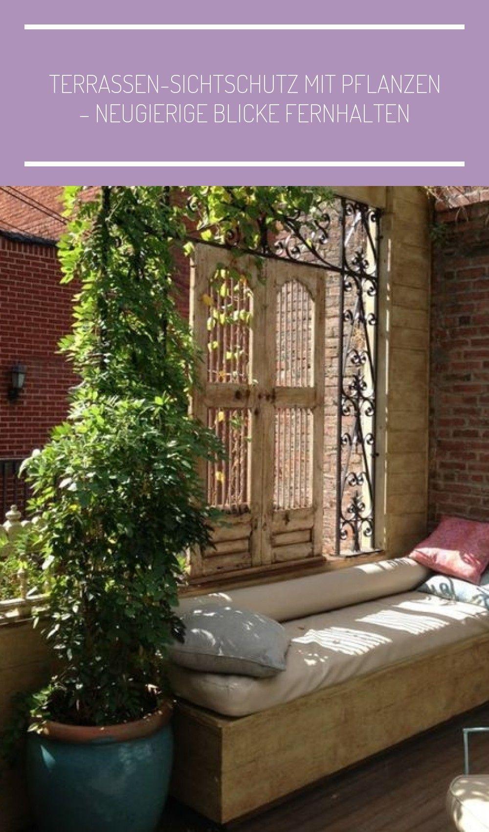 Terrasse Balkon Sichtschutz Metallgitterauflage Fur