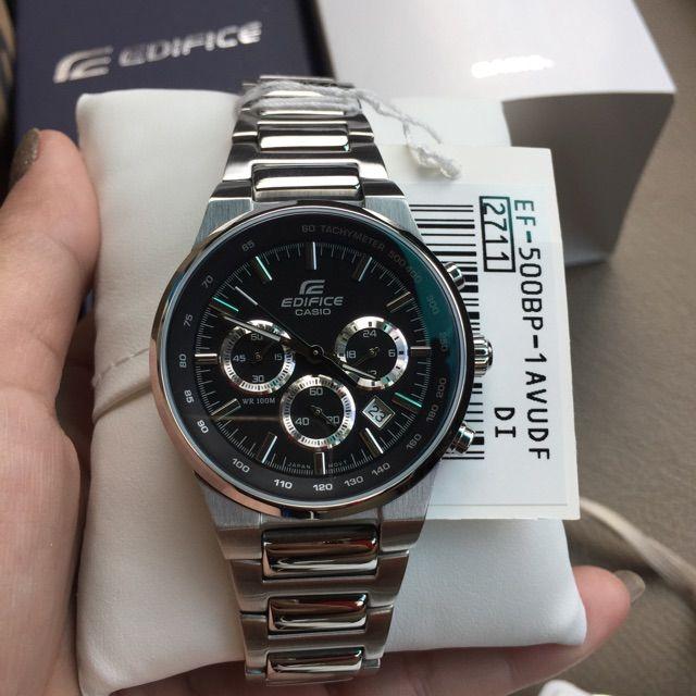 694b30620a8 ขาย นาฬิกาข้อมือ Casio Edifice Chronograph รุ่น EF-500BP-1AV นาฬิกาข้อมือ