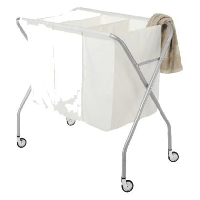 Whitmor Deluxe Laundry Sorter Silver.Opens in a new window