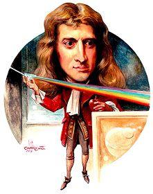 Isaac Newton Caricatura Realizada Por Luis Carreño 2017 In 2019