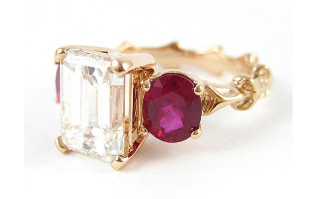 7 Unique (Pink!) Engagement Rings