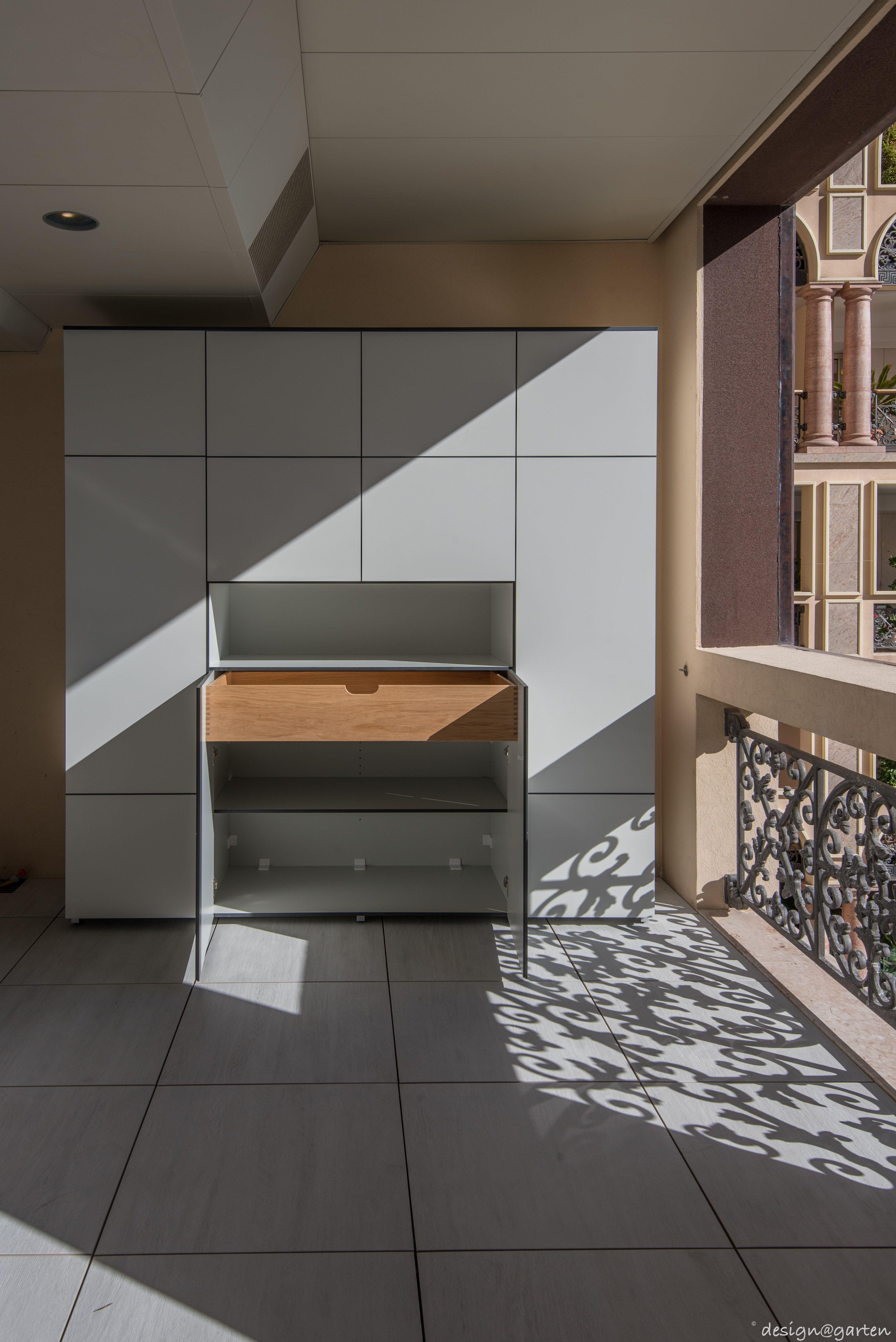 Terrassenschrank Win Wetterfest Uv Bestandig By Design Garten Projekt In Monaco Terrassenschrank Gartenschrank Home Decor Decor Room Divider