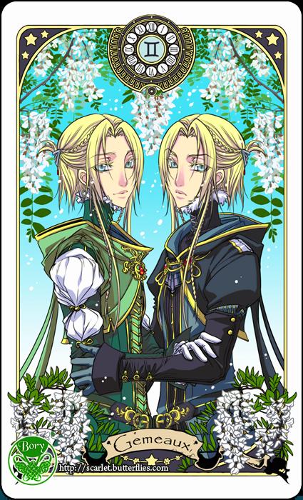 Gemini by Bory H. [©2013] Anime zodiac, Gemini art, Zodiac