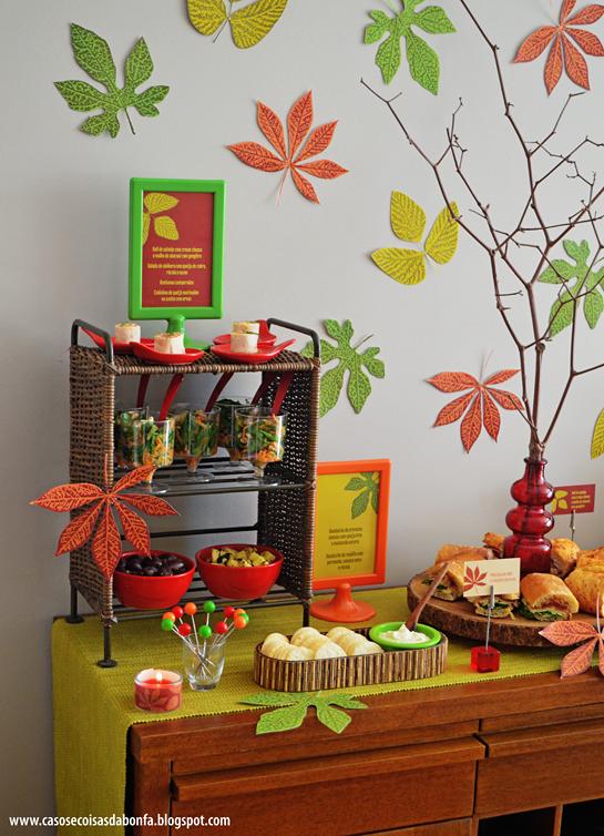 Festa do Outono ENCONTROS Festa de outono, Festa e Imagens de outono -> Decoração Festa Folhas De Outono